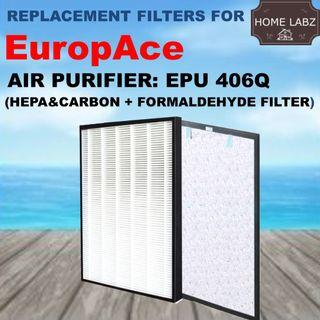 Compatible Filter for Europace EPU406Q Air Purifier