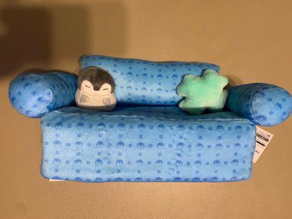 企鵝紙巾盒