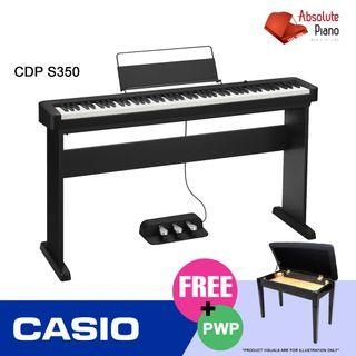Casio Music Sale @ Viva Business Park! Casio Contemporary Digital Piano CDP-S350