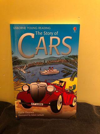 90% new Usborne Young Reading : The Story of Cars