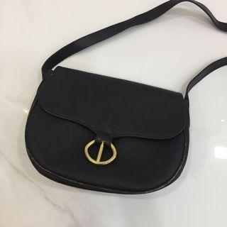 Authentic Christian Dior Black Real Vintage Bag