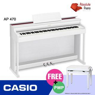 Casio Music Sale @ Viva Business Park! Casio Celviano AP 470 Digital Piano