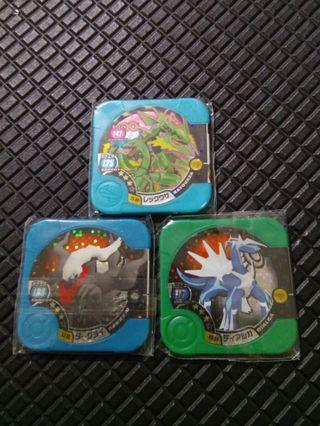 Pokemon tretta 3stars set
