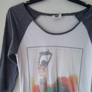 CO Raglan Top - Grey