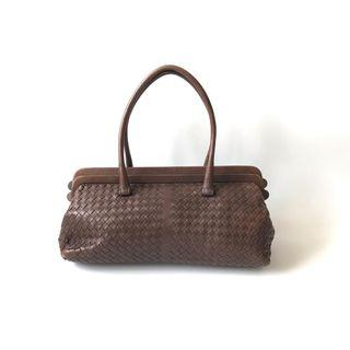 DEAL ALERT! Preloved Bottega Veneta Brown (37 x 13 x 19 cm) with card & replacement dustbag (a)