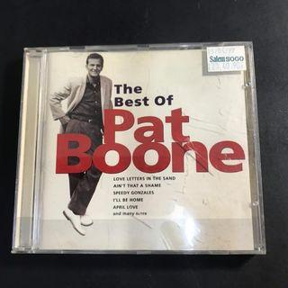 CD audio pat boone