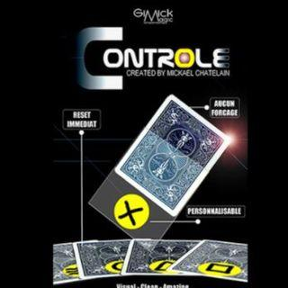 CONTROLE (Gimmick+online instruct) - Mickael Chatelain Card Magic