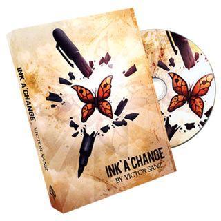 Ink 'A' Change - Victor Sanz magic trick
