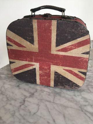 Vintage UK wooden box