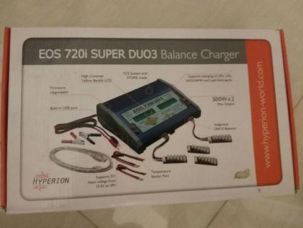EOS 720i Super DUO3 charger can charge LiHv
