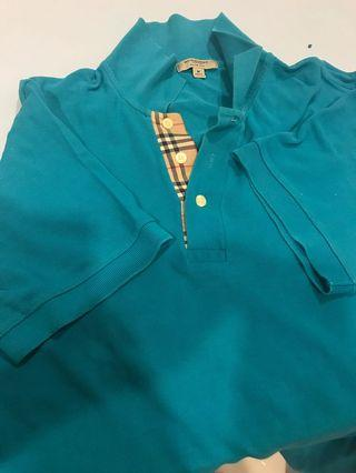 Burberry slim fit polo shirt