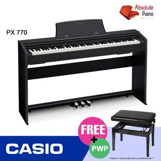 Casio Music Sale @ Viva Business Park! Casio Privia Digital Piano PX-770