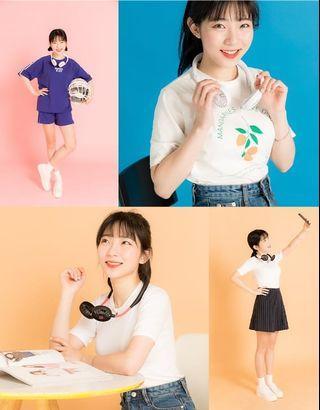 🔥🔥優惠價~韓國🇰🇷#BLUEIDEE #頸戴式雙頭電風扇🎧