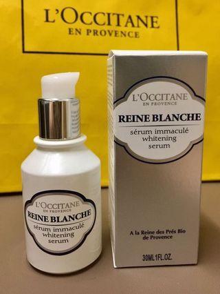 Loccitane 👸🏻白皇后美白精華 whitening serum 30ml