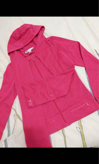 Y3 pink jacket