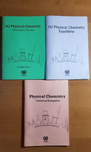 🚚 Temasek JC ACE H2 Physical Chemistry Practice Papers with Solutions