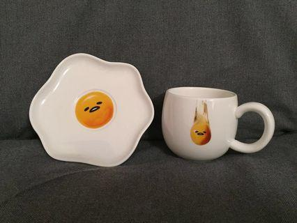 蛋黃哥杯碟