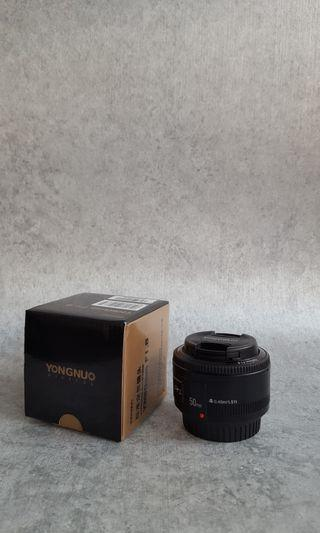 Lensa YongNuo 50mm f1.8