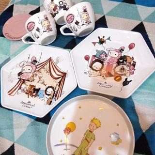 🎪憂傷馬戲團🤡 小王子🤴 咖啡杯 六角餐盤