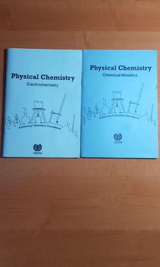 🚚 Temasek JC ACE H2 Physical Chem Past Prelim Examination Qns with solutions