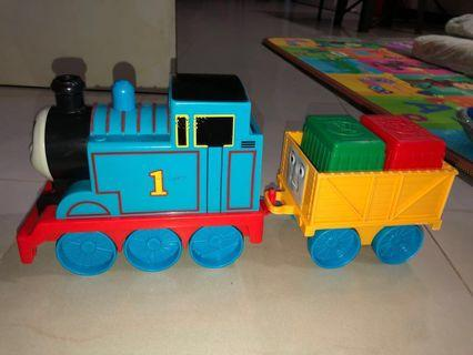 Sale of Pre-Owned Thomas and Friends Train and its Load