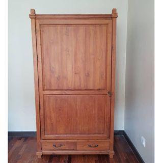 Antique Wooden Wardrobe Cabinet