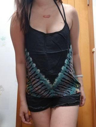 泰國 民族 吊帶衫