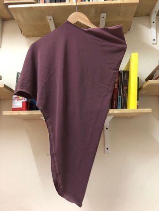 Pink belacan instant scarf