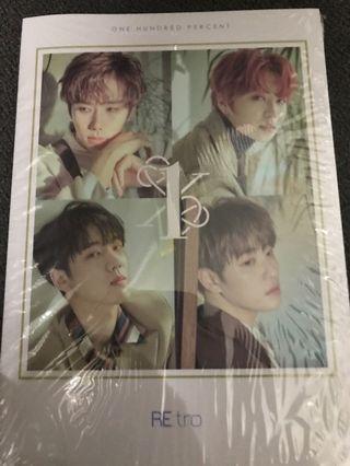 100% 5th mini album RE:tro album new ver.