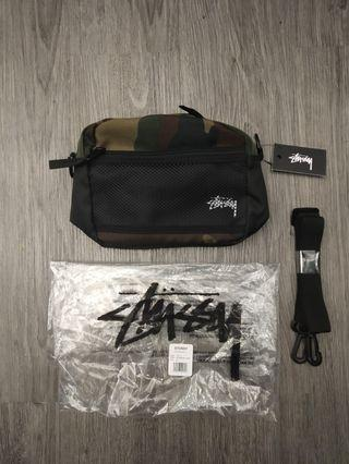 STUSSY POUCH CAMO SLING BAG