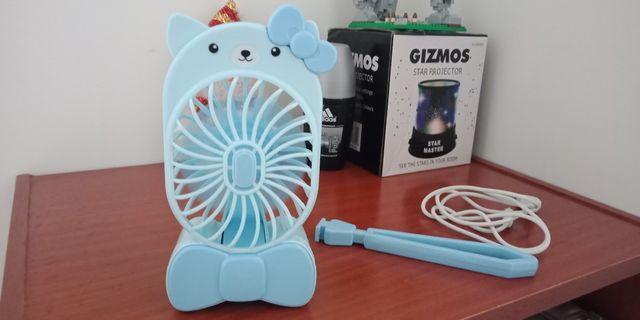 🚚 攜帶式可愛貓🐱電風扇