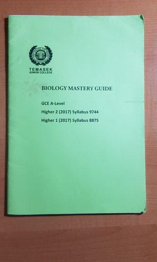 🚚 Temasek JC H2 Bio Answering Techniques