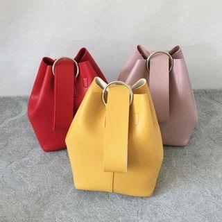 Bucket Bag with Sling (Made in Korea)