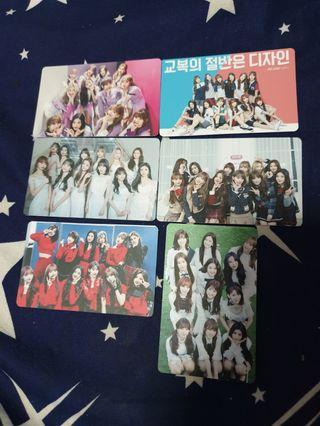🚚 IZ*ONE unofficial photocards