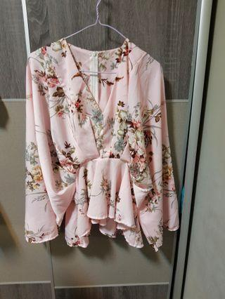 Clearance***Kimono Floral Top