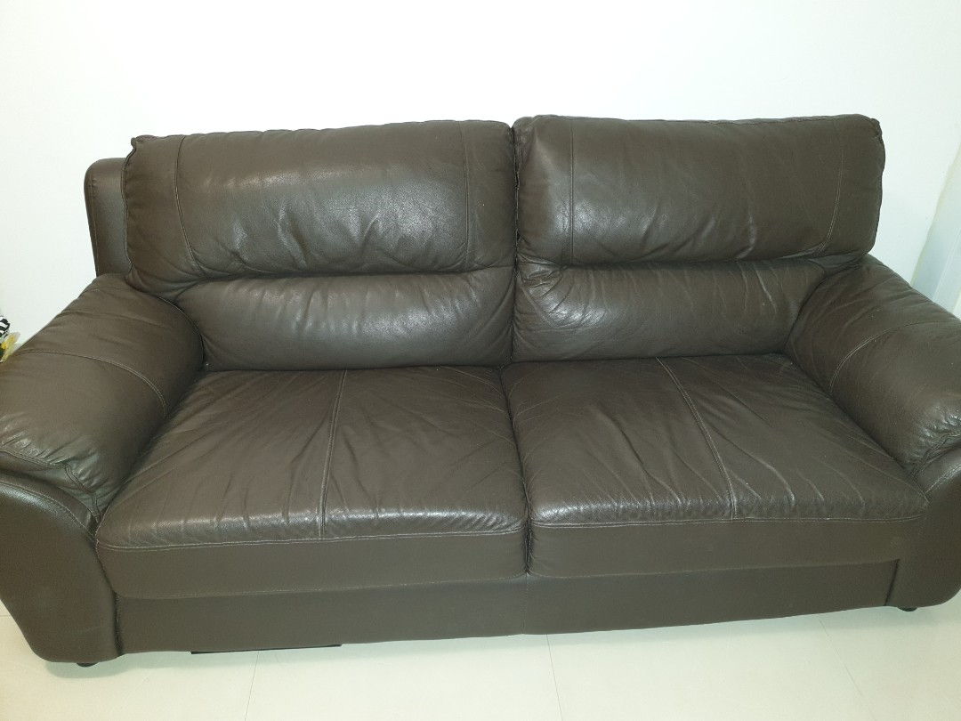 Tremendous 4 Months Old Buyer Collect Ikea Black Vimle Leather Sofa Gmtry Best Dining Table And Chair Ideas Images Gmtryco