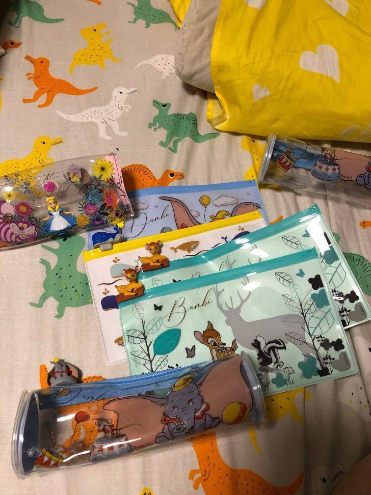 7-11迪士尼系列筆袋隨行袋
