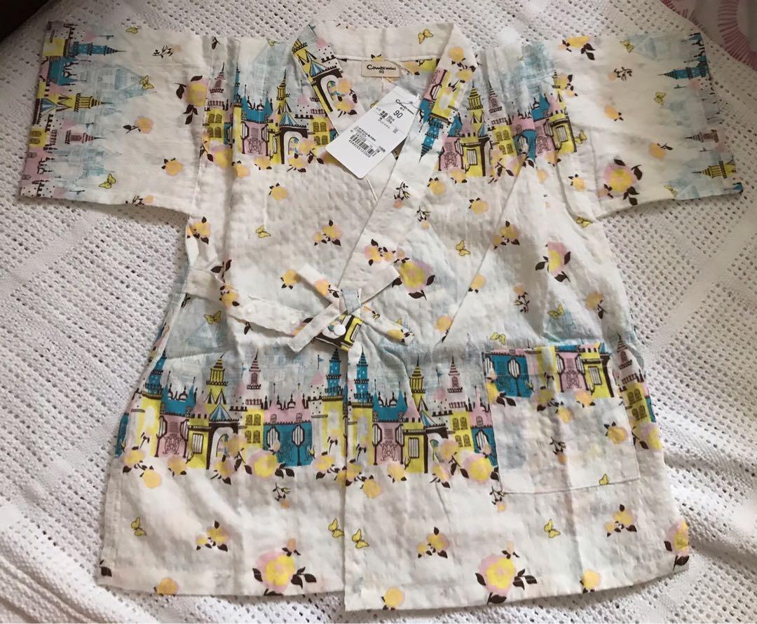 全新日本小孩浴衣-90cm (2-3歲)
