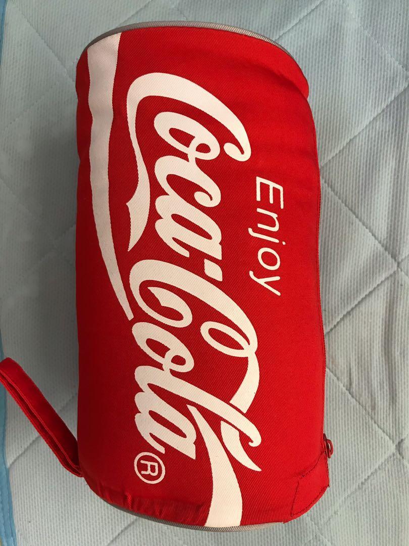 可口可樂罐型毛毯
