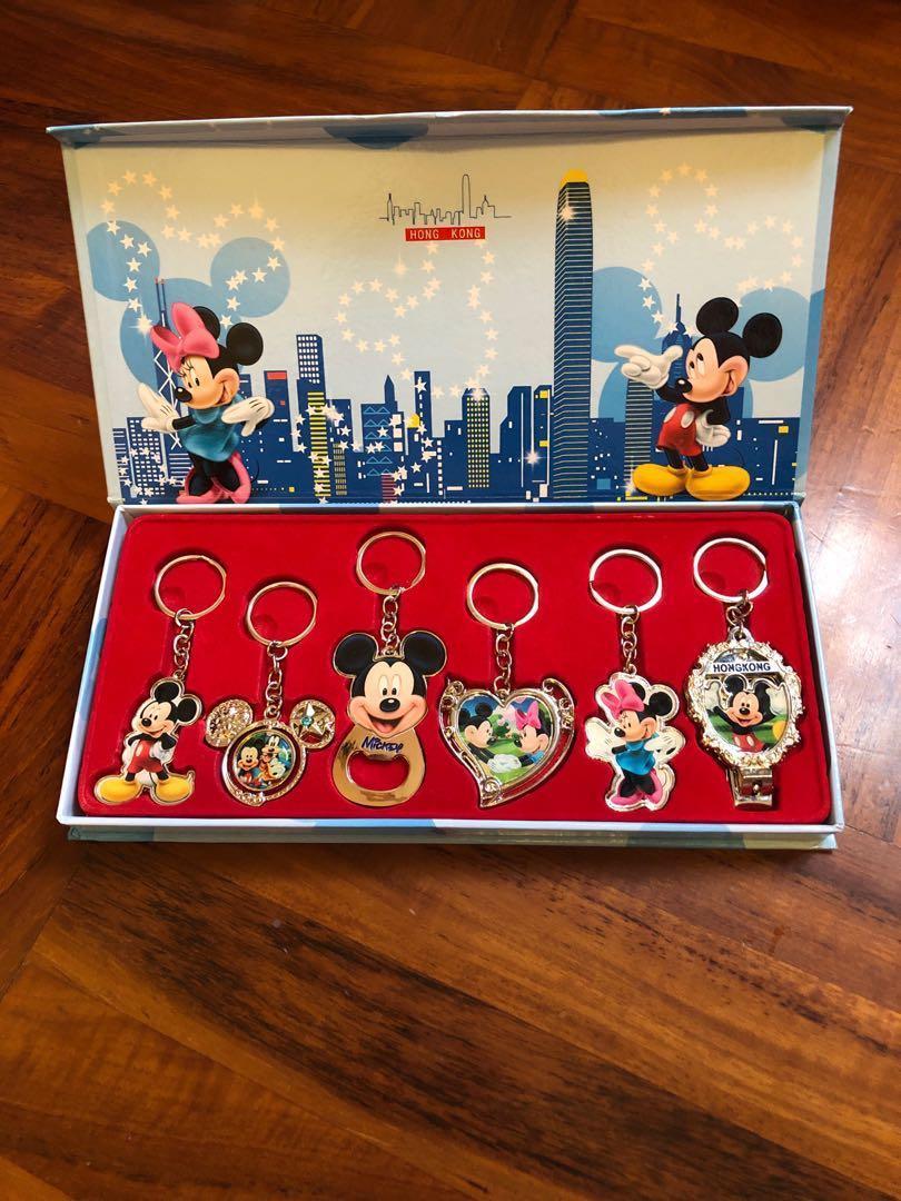 迪士尼米奇&米妮鎖匙扣套裝