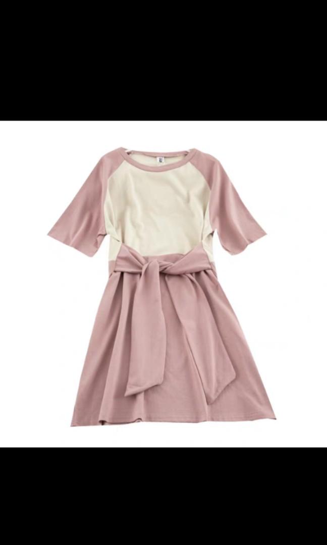 韓款拼色連身裙 #MTRkt #MTRtko