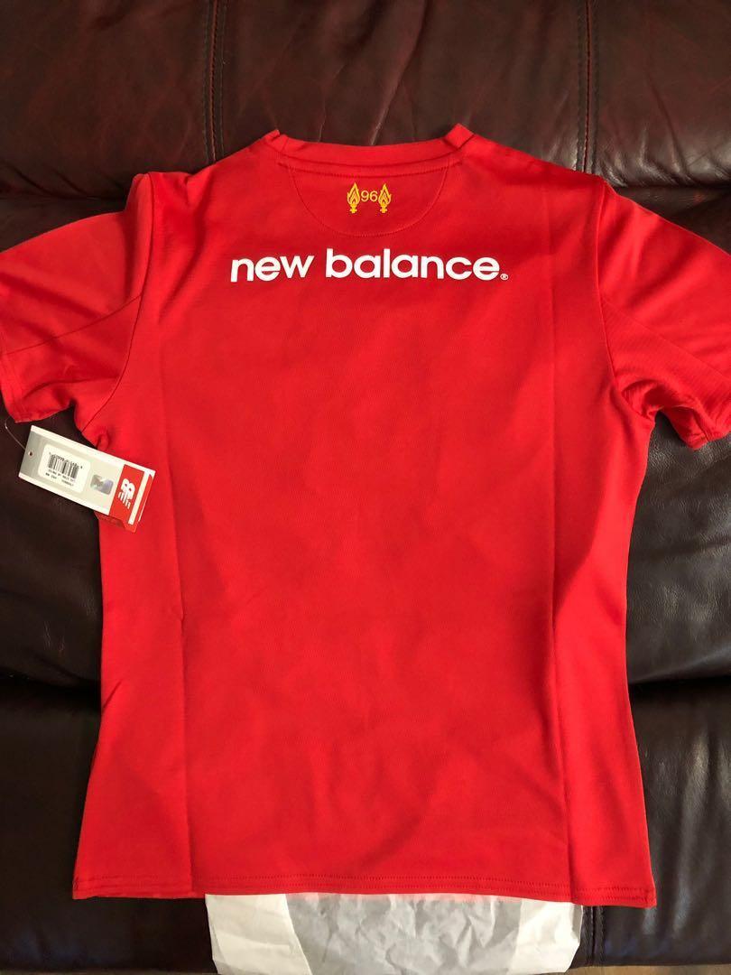 利物浦 Liverpool New Balance shirt 童裝 Boy M BNWT