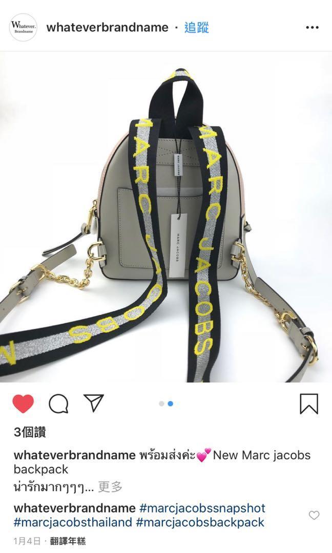全新品 美國shopbop 買回Marc Jacobs相機包系列後背包(原價$12500)