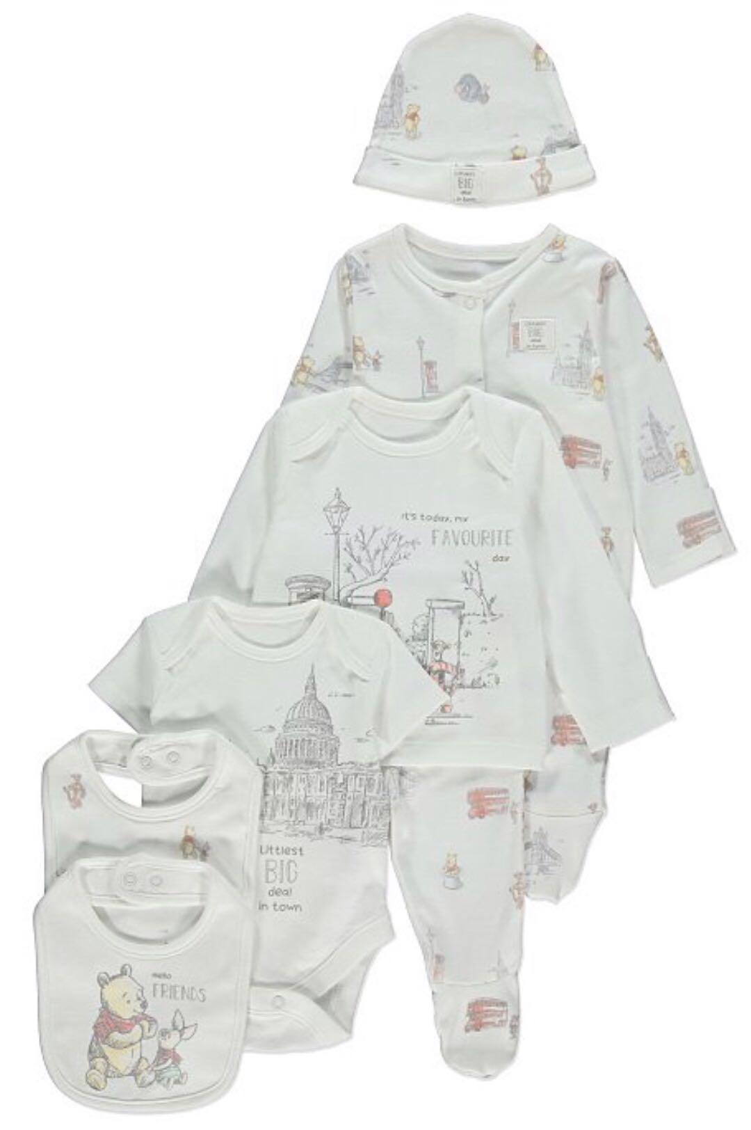 🇬🇧英國直送🇬🇧 Winnie the Pooh 初生嬰兒7件套裝