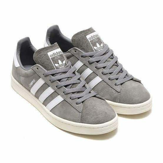 adidas campus dark grey suede  bnib Kode art : BZ0085