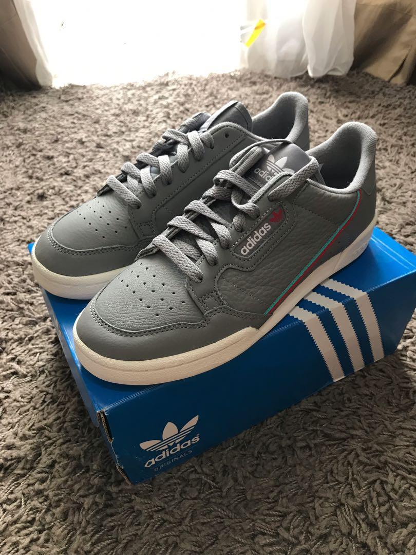 Adidas Continental 80 Grey, NEW!!