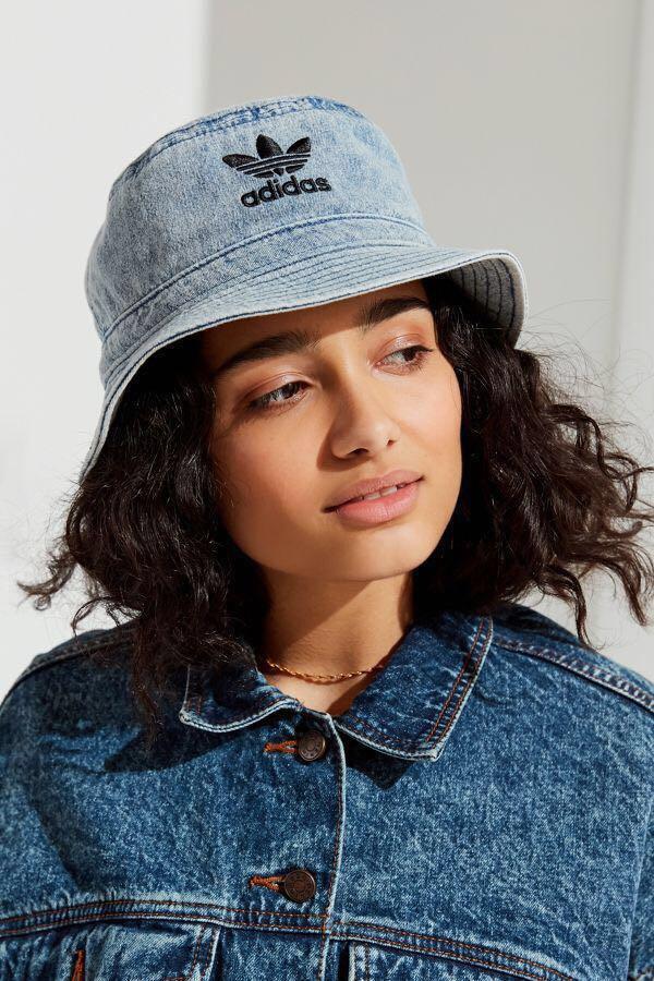 d16f269ea8391 Adidas Denim Bucket Hat