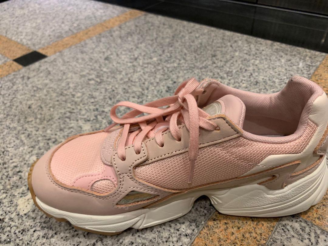 d3af87cc10 Adidas Falcon Pink Color Size Women US 4.5, Women's Fashion, Shoes ...