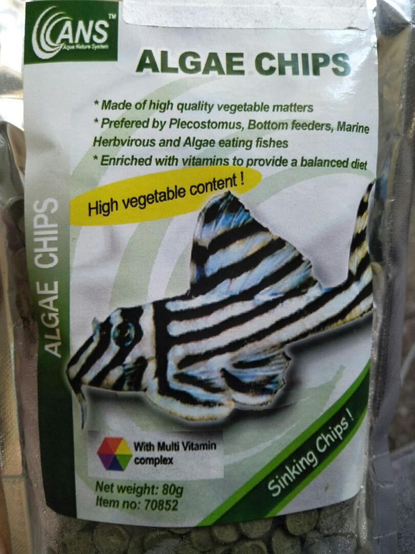 Algae wafers sample