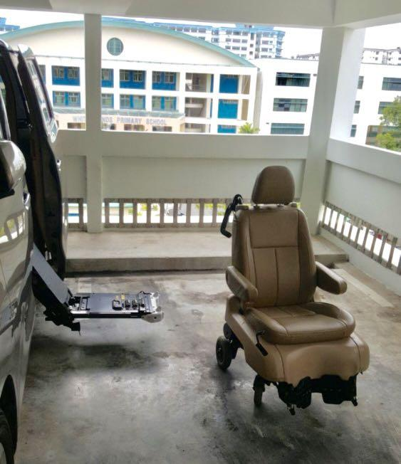 Alphard Auto WheelChair Seat Special Edition Handicap